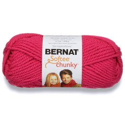 Hot Pink - Bernat Softee Chunky