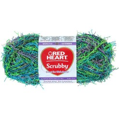 Red Heart Scrubby yarn
