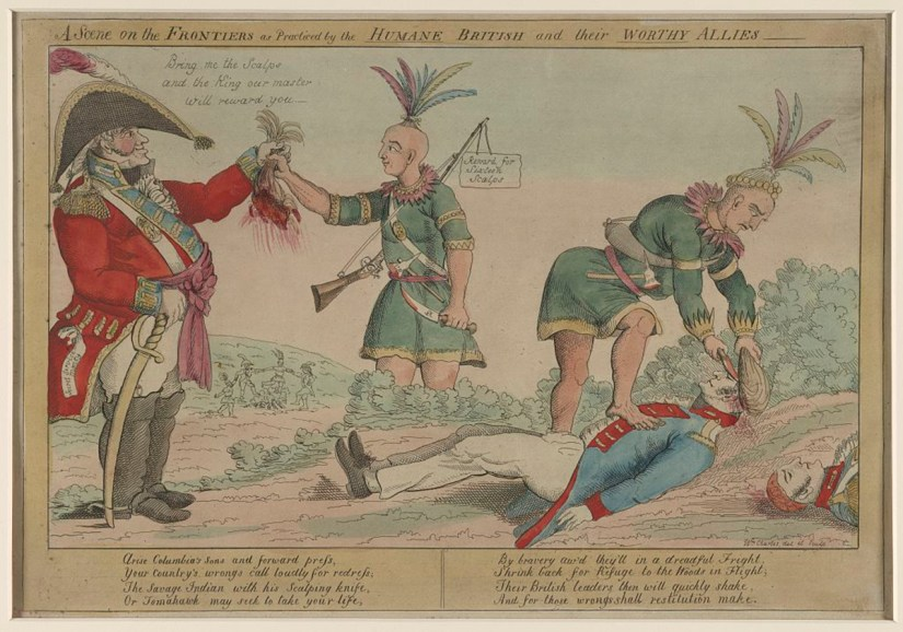Image result for anti native american cartoons