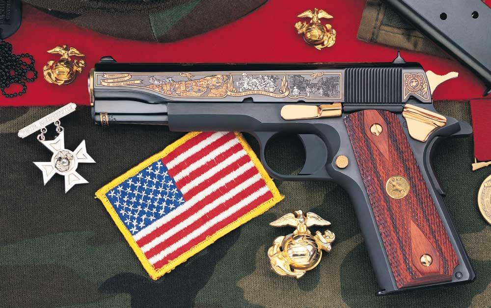 Leatherneck Vietnam Tribute Pistol America Remembers