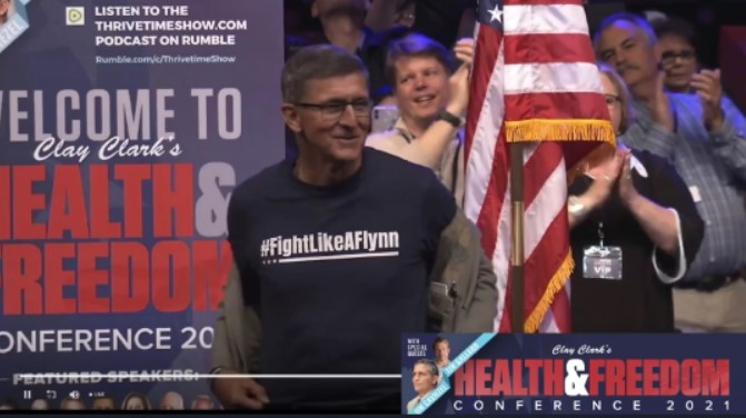 Gen Flynn Speech – Health & Freedom Conference, Tulsa, OK – April 16, 2021