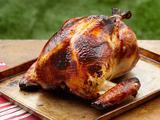 Honey Brined Smoked Turkey