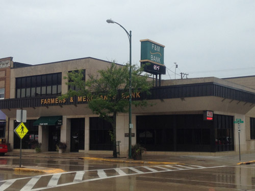 F and M Bank Renovation in Tomah WI by Americon Construction Company of Tomah and Sparta WI