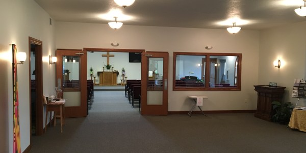 commercial construction of First Methodist Church in Stoddard, WI by Americon Construction Co in Tomah, WI