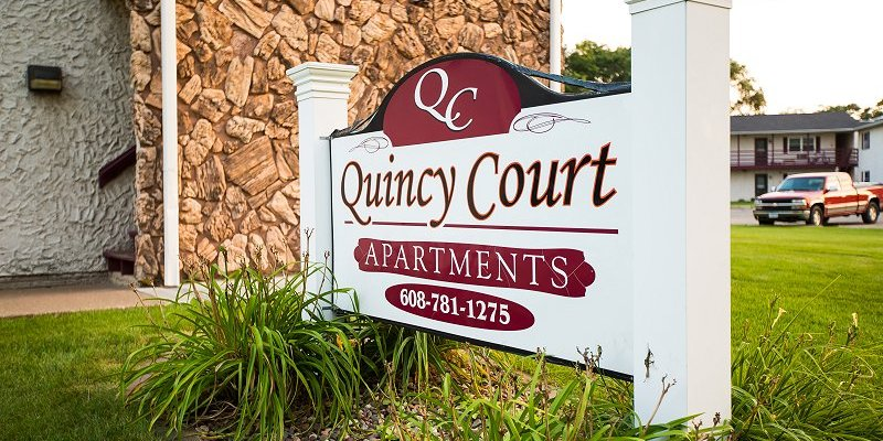 Quincy Court Apartments of Onalaska, WI construction by Americon Construction