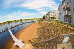 River's Edge Apartments in LaCrosse Wisconsin Construction by Americon Construction