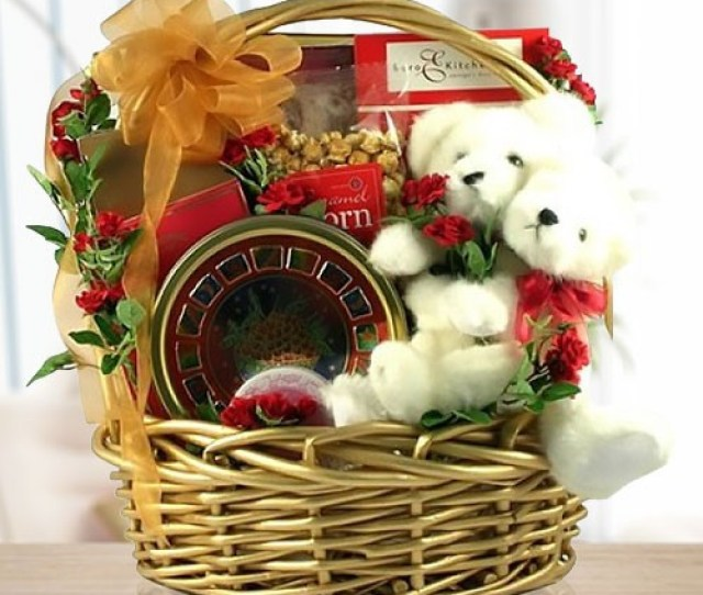 Sweet Love Will Save The World Romantic Gift Basket