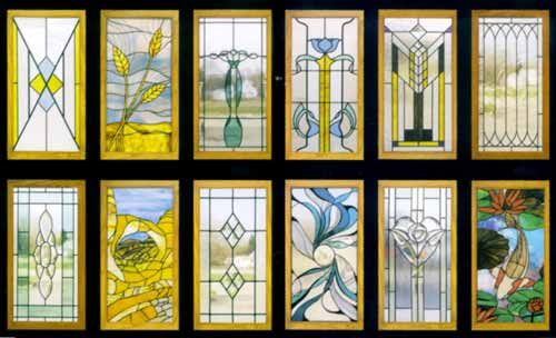 Cabinet Door Designs In Stained Glass