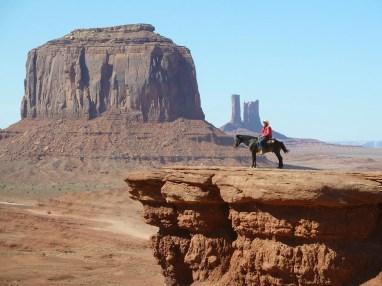 Reiter auf dem Monument Valley