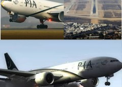 Airbus A320 with 107 people aboard crashes into the residential area of Karachi after 'three failed landing attempts'