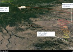 A Cessna 560 Citation V was destroyed when it impacted the terrain in the Mutton Mountains, Oregon