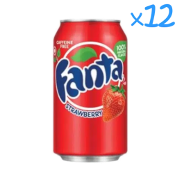 Fanta Strawberry (x12)