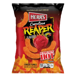 Herr's Carolina Reaper Cheese Curls