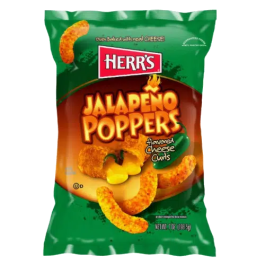 Herr's Jalapeño Poppers Cheese Curls