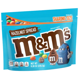 M&M's Hazelnut Spread Sharing Bag