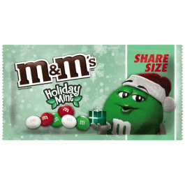 M&M's Holiday Mint Chocolate Share Size