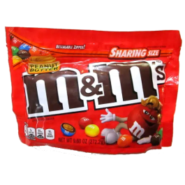 M&M's Peanut butter Sharing Bag