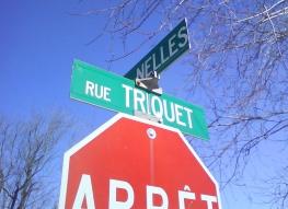 La rue Triquet dans le quartier Saint-Yves à Québec