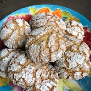 Glutenvrije gebarsten koeken