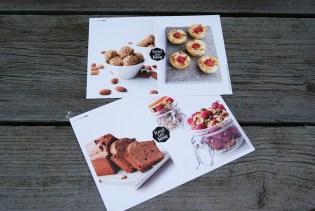 Recepten - Gastronomixs Vier zoete verleidingen. Chocolade-Biercake, Frambozenfinanciers met zwarte thee, Hidde's granola en Rose and French Vanilla-truffels. Waar zullen we morgen eens mee beginnen?