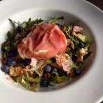 Het beloofde recept | salade met blauwe bessen en geitenkaas
