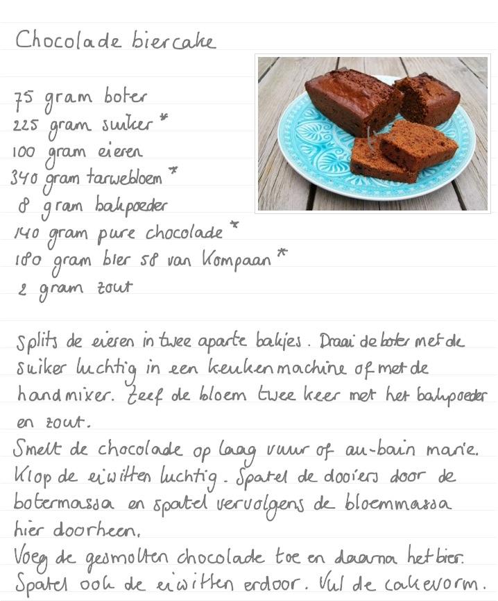 Chocolade-biercake