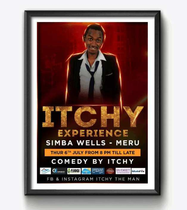 Itchy the Man Meru comedian