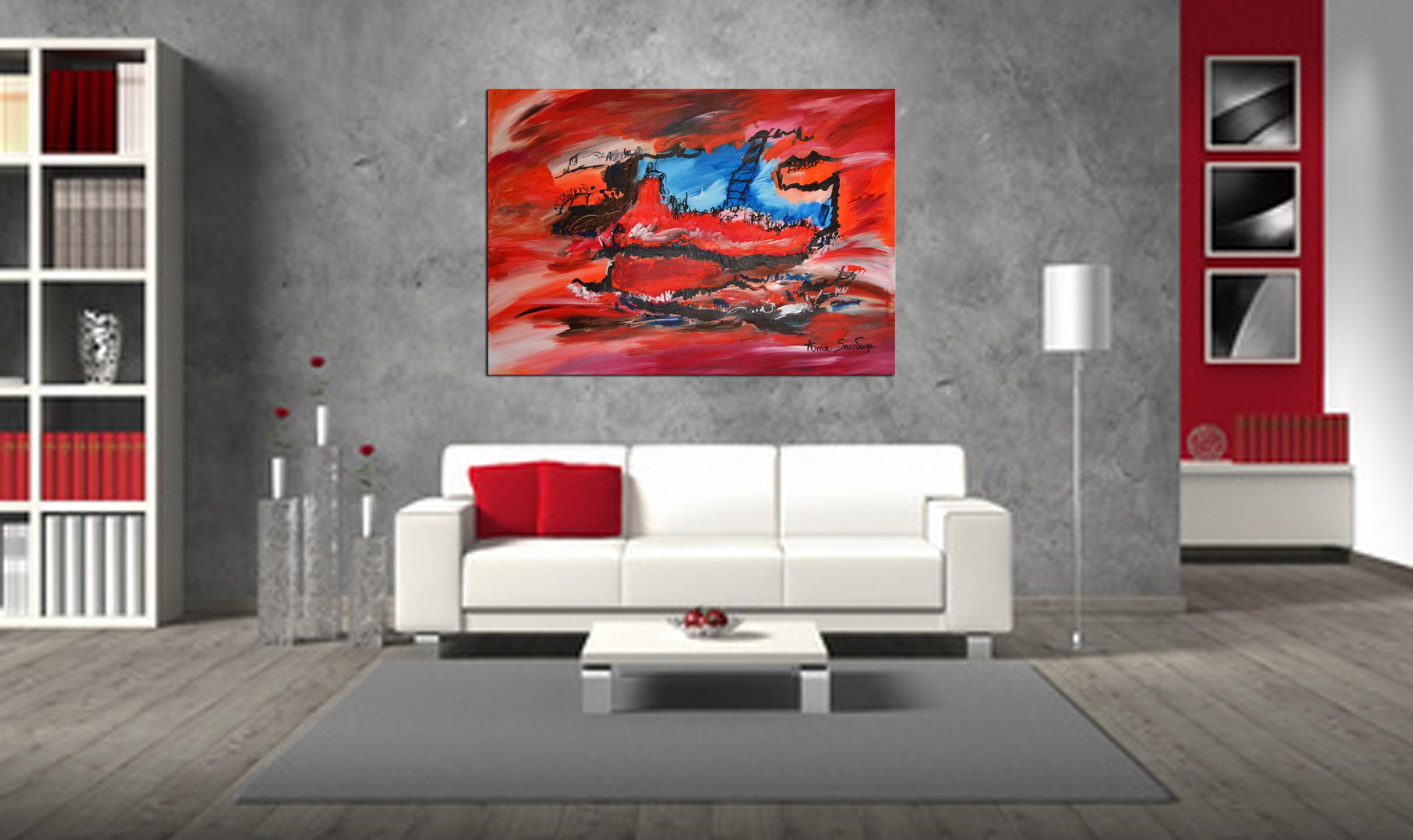 Peinture Salon Moderne Pour Une Decoration 100 Unique