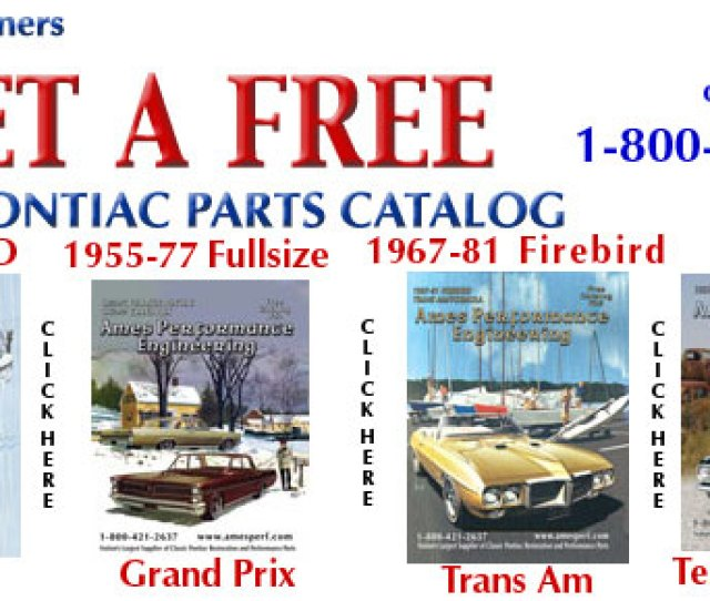 Free Pontiac Parts Catalog