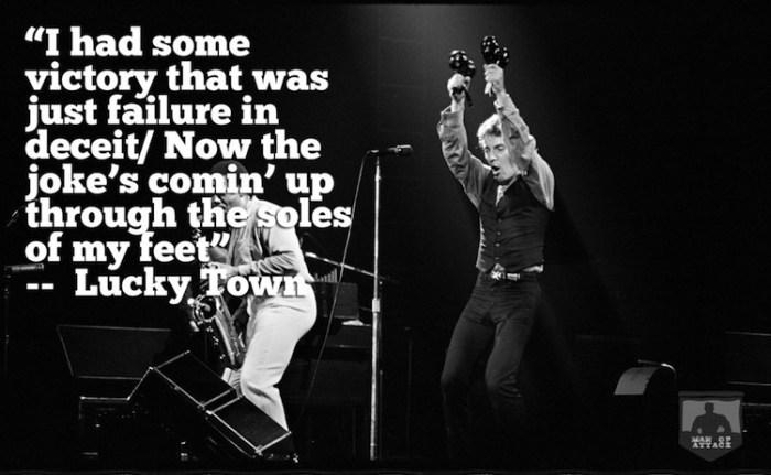 Best Bruce Springsteen Lyrics