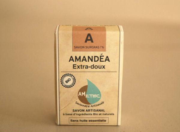 savon lait d'amandes bio amethic