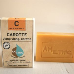 SAVON NATUREL BIO CAROTTE FRANCE