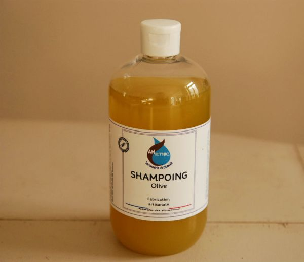 SHAMPOING HUILE D'OLIVE AMETHIC