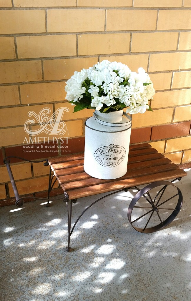 rustic-flower-cart