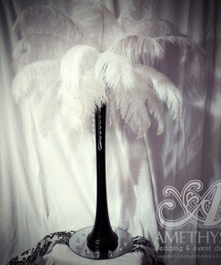 Feather Centerpieces