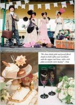 Horsebridge Station - Steampunk photoshoot featured in Your Hampshire and Dorset wedding magazine