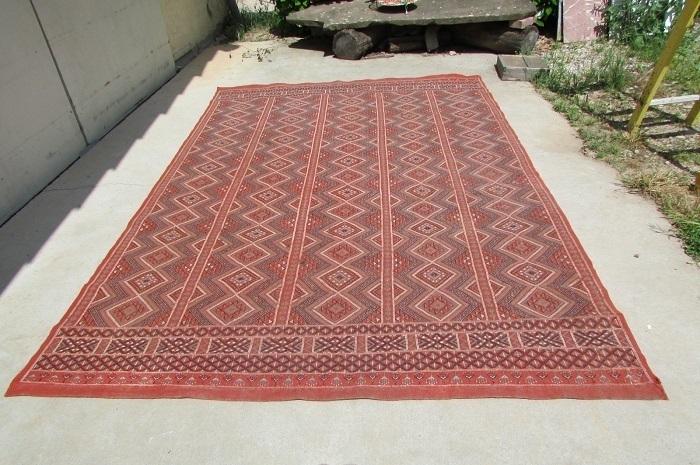 https www ameubleancien fr fr catalog 4 vendus 18134 tres grand tapis kilim berbere marocain en laine 195 x 290 cm vendu