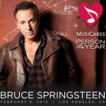 BRUCE SPRINGSTEEN HONORED AS MUSICARES PERSON OF THE YEAR 2013