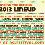 ACL FESTIVAL 2013 ANNOUNCES LINEUP