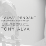 "SKATE BOARD PIONEER TONY ALVA AND PENNYROYAL STUDIO RELEASE ""THE ALVA PENDANT"" TO BENEFIT MUSICARES"