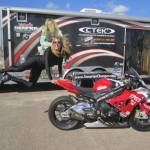 VALERIE THOMPSON BREAKS PERSONAL BEST MOTORCYCLE LAND SPEED RECORD AT 217.7 MPH AT TEXAS MILE
