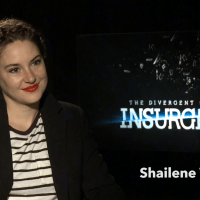 INSURGENT:  THE INTERVIEWS Shailene Woodley, Miles Teller, Theo James, Octavia Spencer, and Ansel Elgort