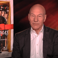 PATRICK STEWART ON THE NEW FILM 'CHRISTMAS EVE'