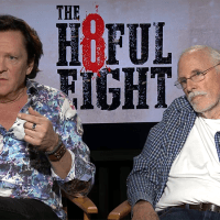 THE HATEFUL EIGHT:  MICHAEL MADSEN AND  BRUCE DERN INTERVIEW