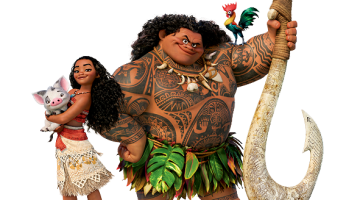 MOANA:  ANTHROPOMORPHIC HAIR, ANTHROPOMORPHIC WATER, HOW THINGS COME TO LIFE IN WALT DISNEY'S MOANA