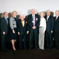 CINEMARK FOUNDER LEE ROY MITCHELL BESTOWED ORDER OF THE CROWN BY PRINCESS ASTRID OF BELGIUM