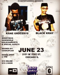 Goth Money Records - Black Kray & Kane Grocerys @ AMFM Gallery  | Chicago | Illinois | United States