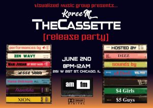 Kvreem The Cassette Release Party @ AMFM Gallery  | Chicago | Illinois | United States