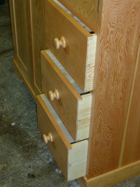 Douglas Fir Kitchen Cabinet