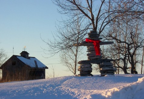 Inukshuk - Photo by Brian Little
